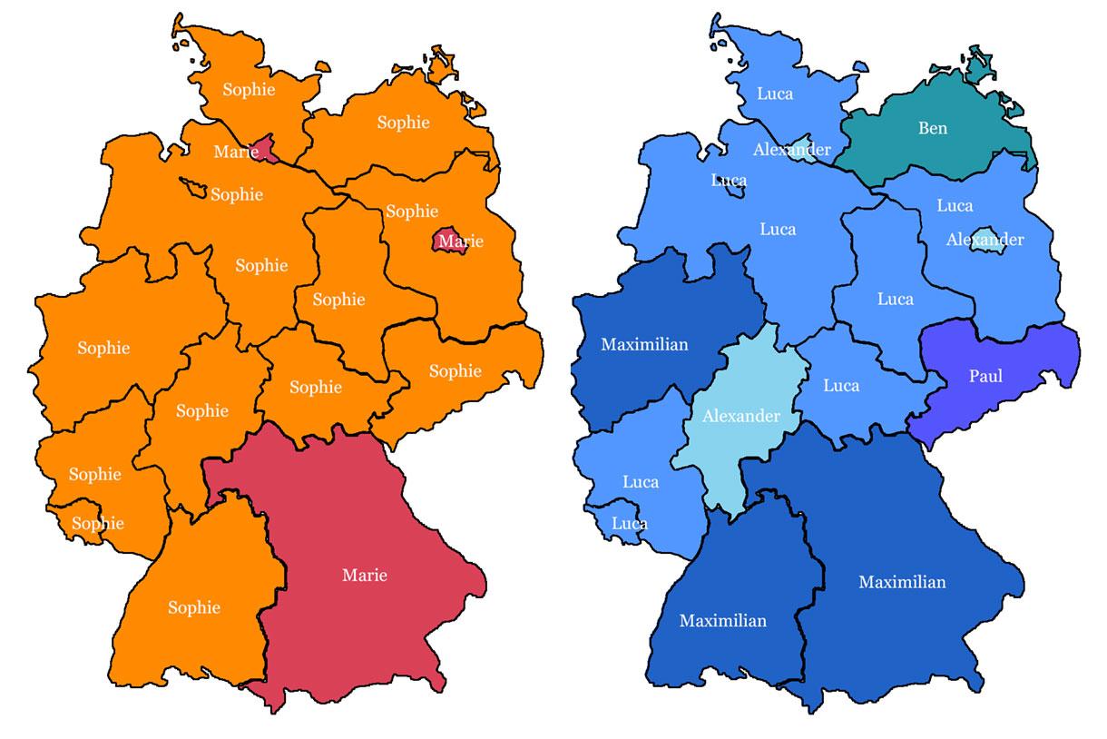Ost Und West Deutschland