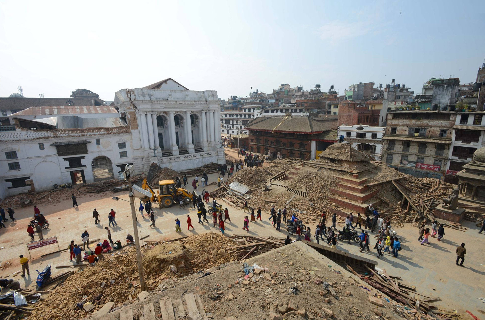 bhaktapur nach dem erdbeben