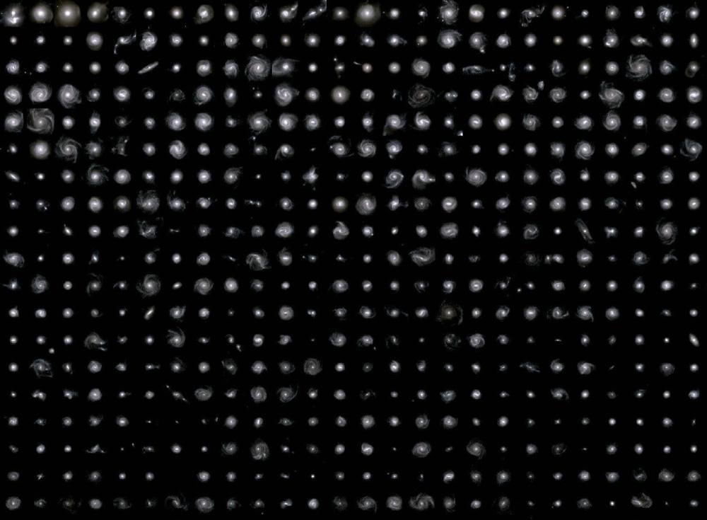 Galaxien aus der TNG50 Simulation